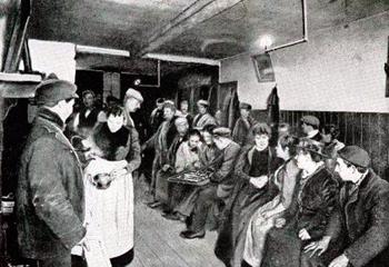 un asile de nuit à Whitechapel