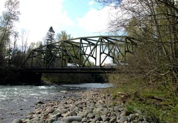 La White river près d'Enumclaw