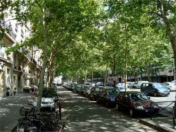 Le boulevard de Reuilly