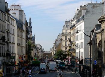 rue du Faubourg Saint-Martin