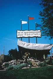 le quartier d'Old Westport