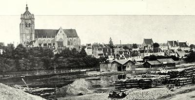 Vu de Dôle en 1900