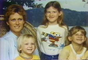 Diane Downs et ses 3 enfants