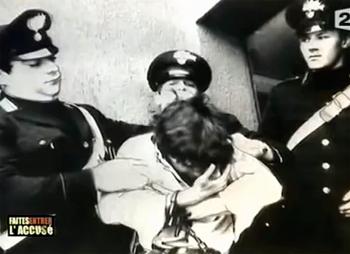Roberto Succo arrêté par les carabiniers