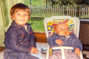 Colleen et Ronnie en 1980