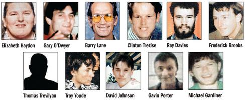 Les victimes de Snowtown