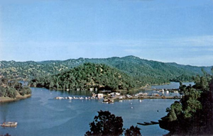 Le lac Berryessa