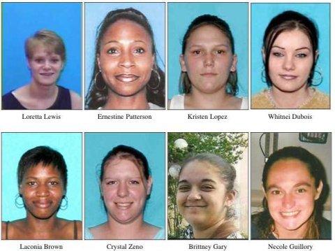 Les 8 victimes