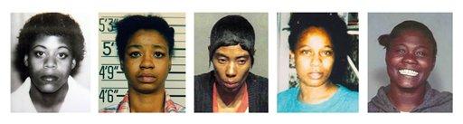 Cinq des victimes