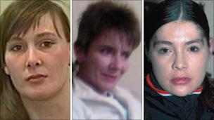 Shelley, Susan et Suzanne