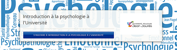 introduction à la psychologie France Université Numérique