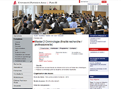 master-2 criminologie paris-2