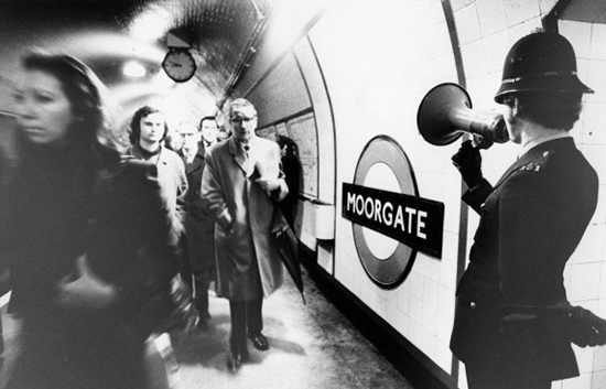 métro londres 1970