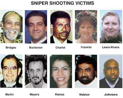 Les victimes des snipers