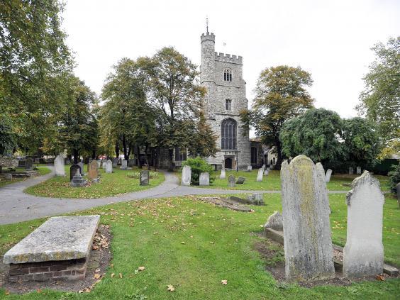Le cimetière de St Margaret