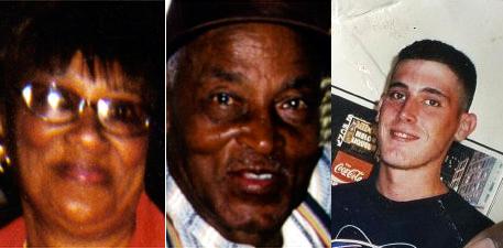 Lilliane et Clarence James, et Carlos Perez