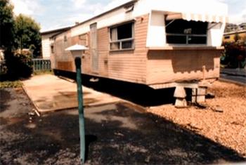 Le mobile home d'Arthur Leigh Allen