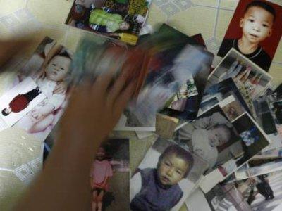 Les portraits de certains enfants enlevés à Shenzhen