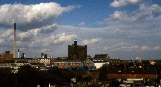 Vue de Hull dans les années 1970