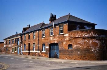 La caserne de pompiers de Hull