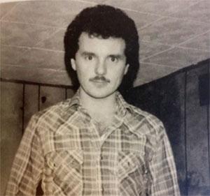 Harvey en 1985