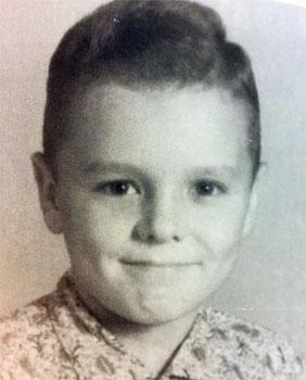 Harvey, à l'âge de 9 ans