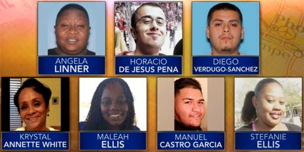 "Les victimes du ""serial street shooter"" de Phoenix"