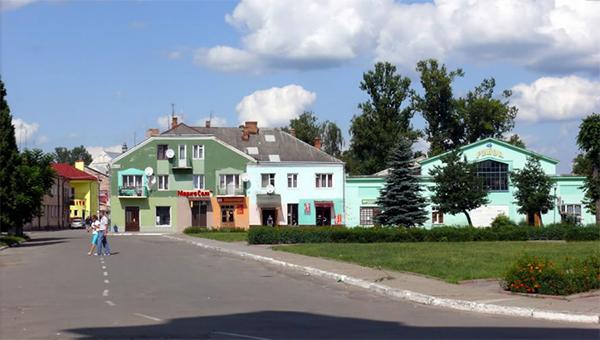 La ville militaire de Yavoriv