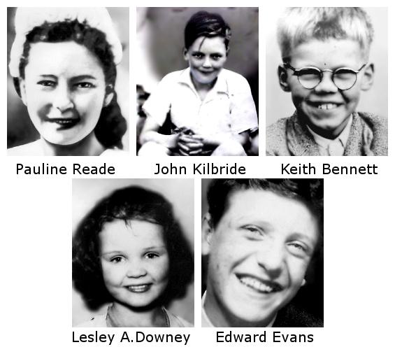 victimes de Brady et Hindley
