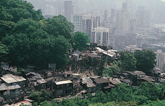 Tai Hang Road dans les années 1980