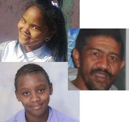 Lekita Moore, Toyher Stobber et Stacey-Lee Mohale