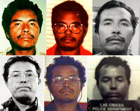 Les différentes arrestations, et les différents visages, de Resendiz