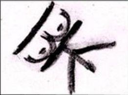 la signature de BTK